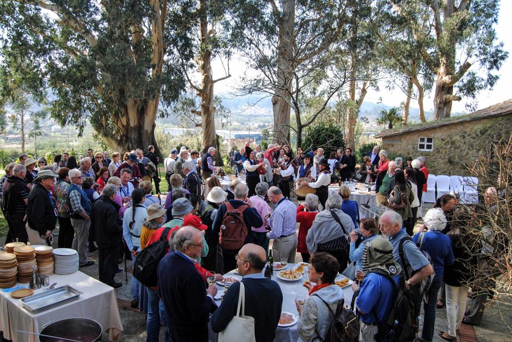 Reunión de directivos del Grupo Banesco en el Pazo de Rubianes