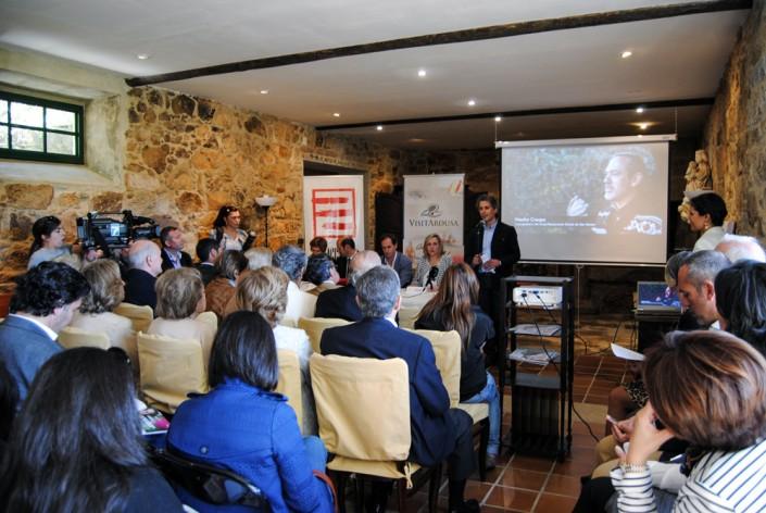 Presentación institucional del grupo Visit Arousa