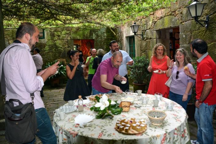Celebración de eventos en el Pazo de Rubianes.