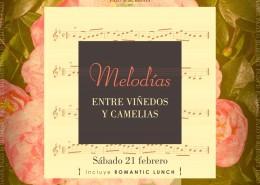 Melodías entre Viñedos y Camelias Romantic Lunch