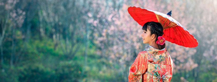 Japón en la historia del Aceite de Camelia