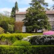 Jardín francés del Pazo de Rubianes